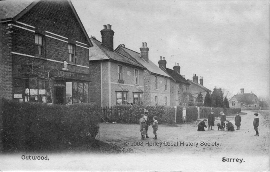 Millers Lane Outwood c1905
