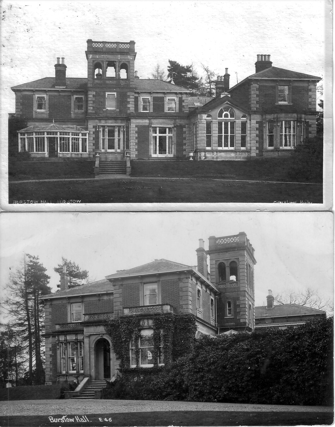 burstow hall c1910