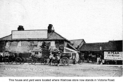 victoria rd was near where present station is 1907