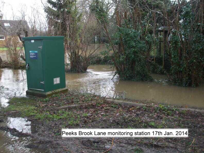peeks brook lane monitoring station