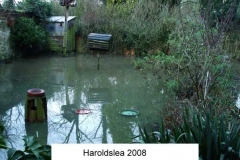 harrowsley bungalow front garden 2008