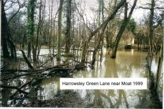harrowsley green lane near moat 1999