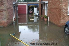 one of many driveways  haroldslea close 2013