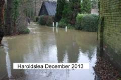 outside harrowsley bungalow