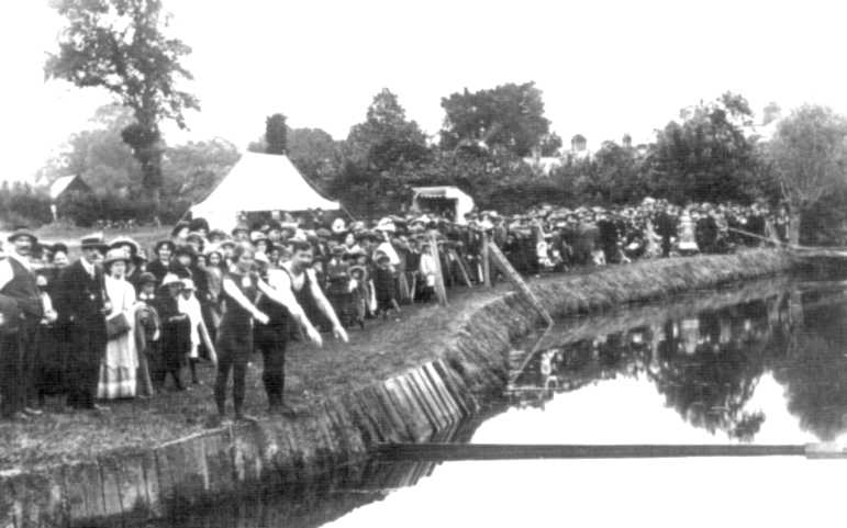 first swimming pool 1884