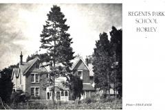 regents park school horley 1949
