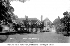 the elms horley row