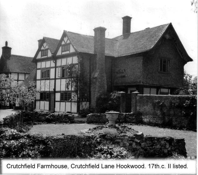 cruchfield cruchfield lane hookwood