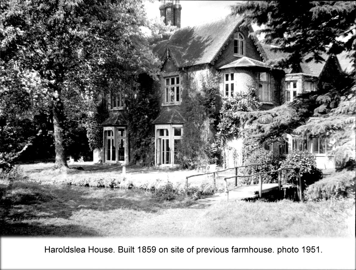 haroldslea house 1951