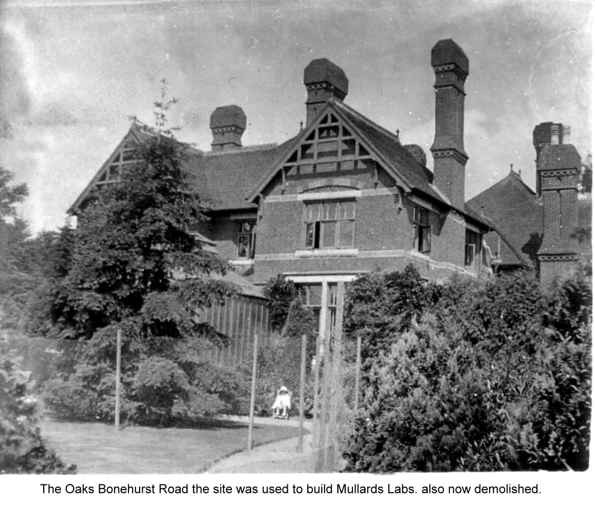 the oaks bonehurst rd dem