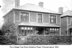 the cottage tea room brighton rd  1905