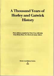 A thousand years of Horley and Gatwick history