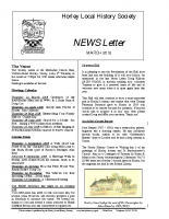 HLHS Newsletter March 2018 iss 2